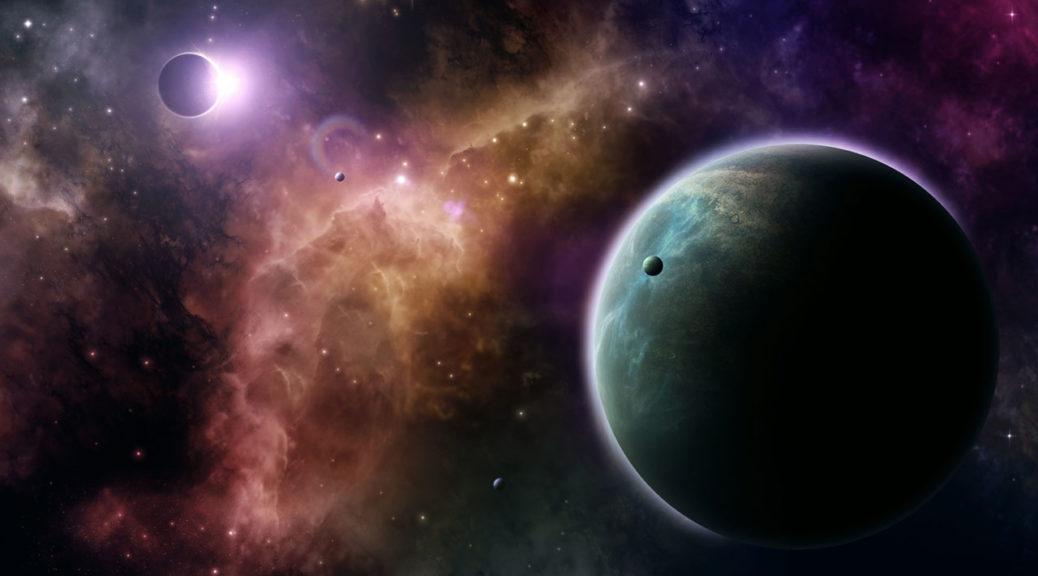 Dark Planetscape - Corzonna